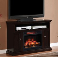 Cannes Infrared Electric Fireplace Media Cabinet in ...