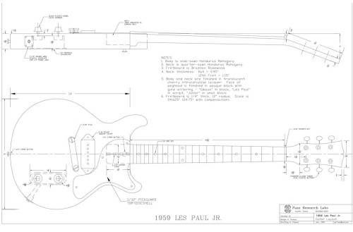 small resolution of les paul junior double cut