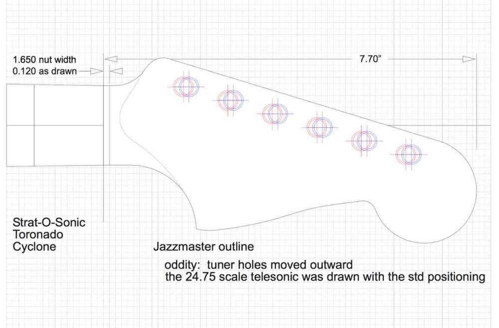 medium resolution of fender jazzmaster headstock