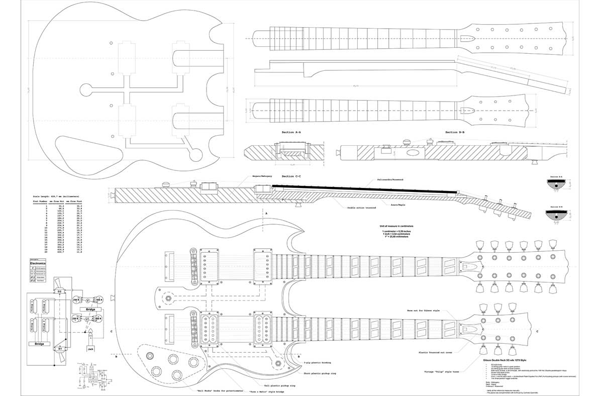 hight resolution of gibson esd 1275 full template