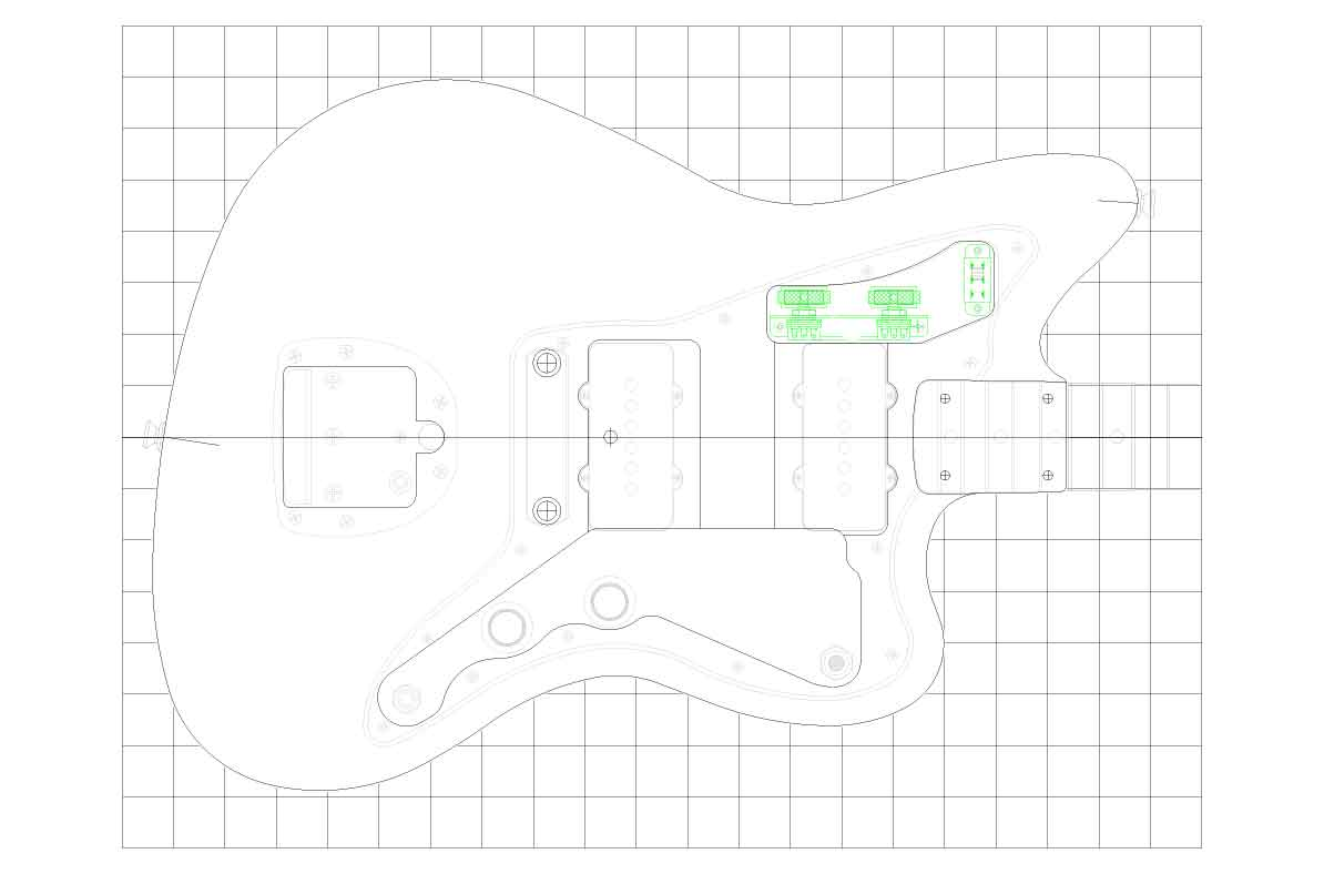 Wiring Diagram For Fender Jazzmaster Guitar Fender