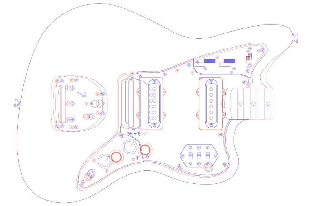 medium resolution of fender jazzmaster guitar templates electric herald wiring diagram as well stratocaster guitar templates printable in