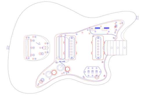 small resolution of fender jazzmaster guitar templates electric herald wiring diagram as well stratocaster guitar templates printable in