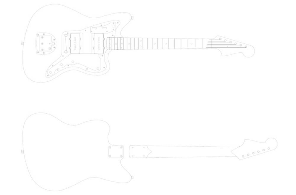 medium resolution of fender jazzmaster front back