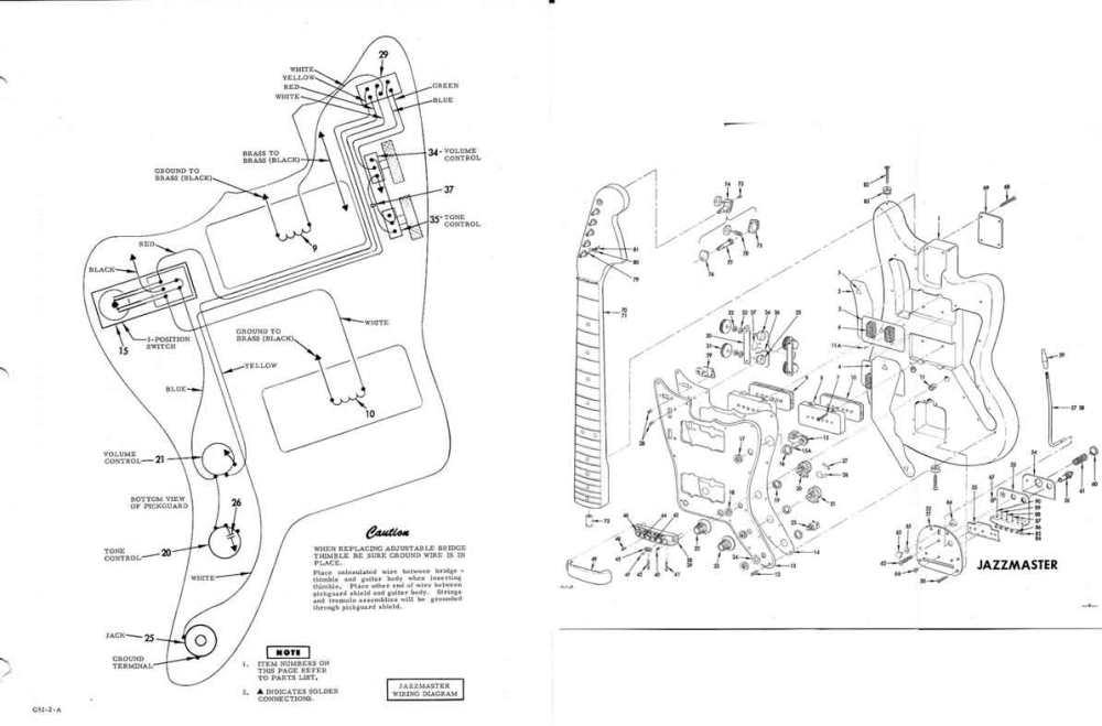 medium resolution of fender jazzmaster wiring assembly