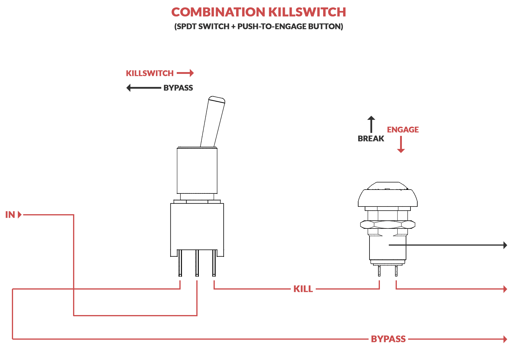9v battery diagram th400 kickdown case connector how to build a killswitch for your guitar | electric herald