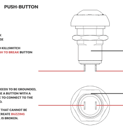 an image displaying the breakdown of how a momentary killswitch button is wired and functions  [ 1744 x 1200 Pixel ]