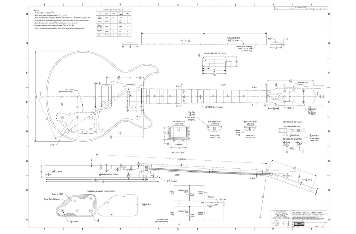 Le Paul Dimension Diagram