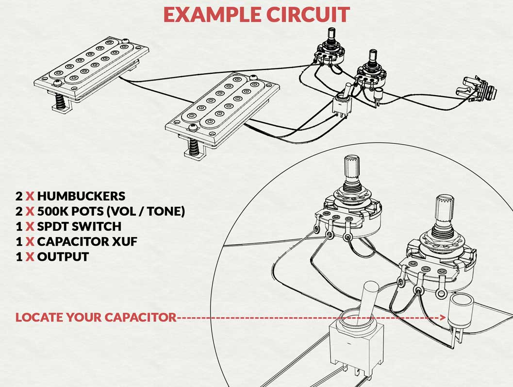 Capacitor In Guitar Circuit