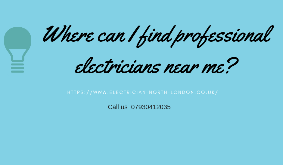 Where can I find electricians near me- RE Electrical Services London