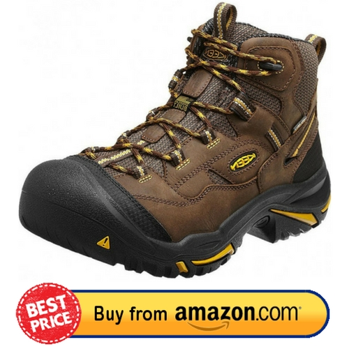 KEEN Utility Men's Braddock Mid Steel Toe Work Boot