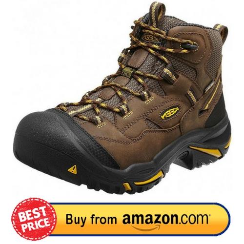 KEEN Utility Men's Braddock Mid Steel Toe Work Boot