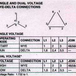 Two Speed Three Phase Motor Wiring Diagram Cat6a Delta Vs Wye - Electrician Talk Professional Electrical Contractors Forum