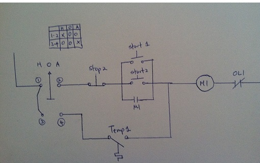 Start Stop Switch Wiring Diagram Switches Can You Clarify What An