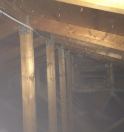 attic wiring is this code compliant electrician talk attic wiring is this code [ 1200 x 900 Pixel ]