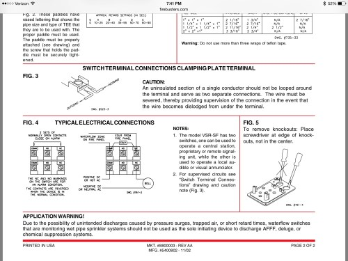 small resolution of flow switch and bell wiring image jpg