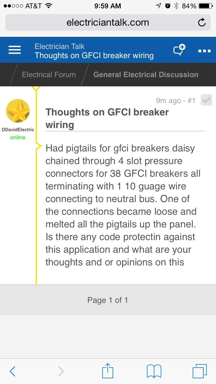 medium resolution of thoughts on gfci breaker wiring image 1461164439357 jpg