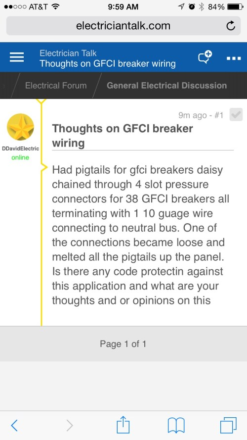 small resolution of thoughts on gfci breaker wiring image 1461164439357 jpg