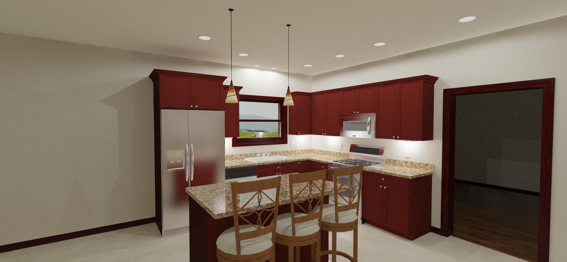 New Kitchen Recessed Lighting Layout  Electrician Talk