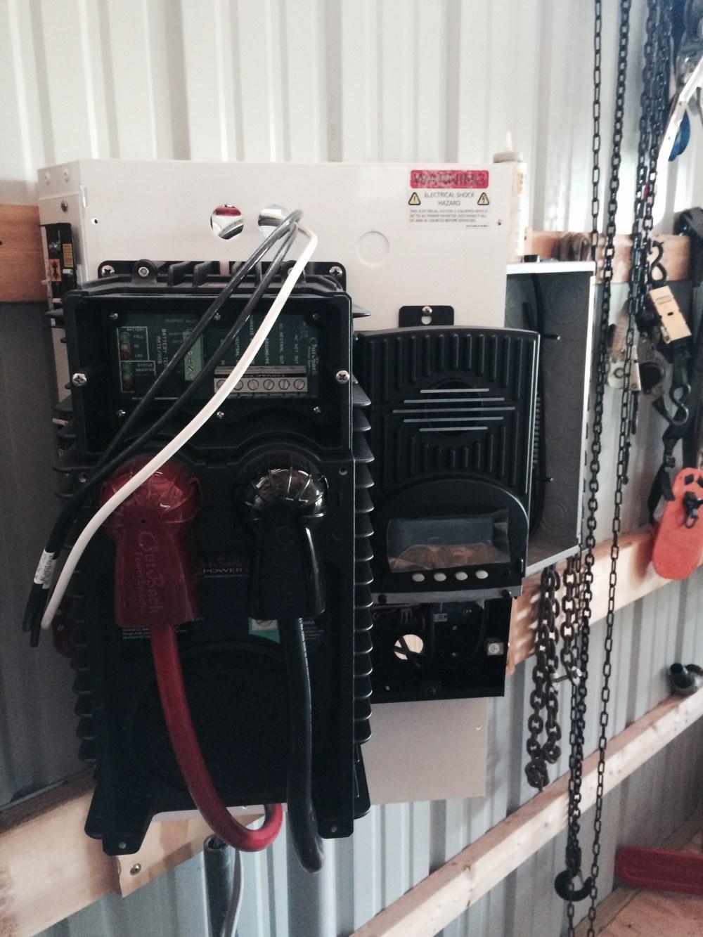 medium resolution of prep garage sub panel for future grid tie solar image jpg