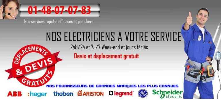 electricien paris 15 75015
