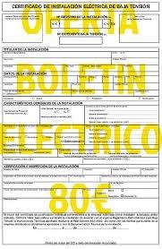 Boletines eléctricos 80€