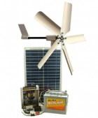 kit hybride solaire et eolien