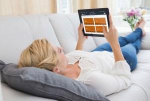 radiateur connecté tablette