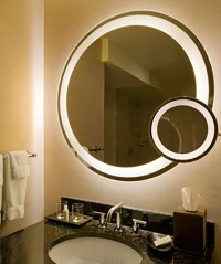 Eternity LED Bathroom Lighted Mirror by Electric Mirror