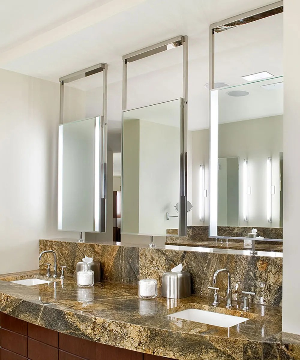 Element LED Lighted Bathroom Mirror  Electric Mirror