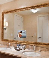 Stanford Lighted Mirror TV