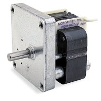 Dayton AC Parallel Shaft Gear Motor 1 RPM 1/250hp 115volt 60hz. Model 3M095