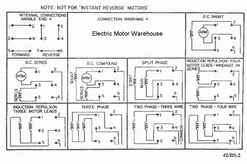 leeson motor capacitor wiring diagram headphone mic 2 hp - 3 electric reversing drum switch position = maintained # rs-5