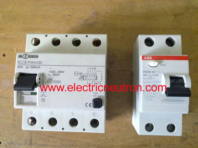 electric motor capacitor wiring diagram electrical of a house diagrams residual current circuit breaker - engineering centre