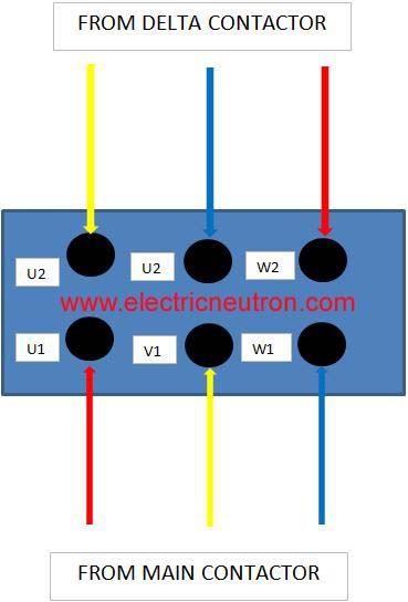 star delta control panel wiring diagram 1998 jeep cherokee sport radio motor connection electrical engineering centre we can refer the complete for starter