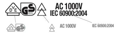 VDE Certified Tools