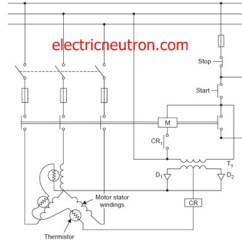 Motor Winding Thermistor Wiring Diagram Electrical Installation Diagrams Kn Igesetze De Protection Over Temperature Engineering Centre Rh Electricneutron Com