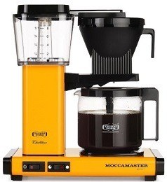 MOCCAMASTER Yellow coffee maker