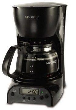 Mr. Coffee 4-Cup Programmable Coffeemaker, DRX5