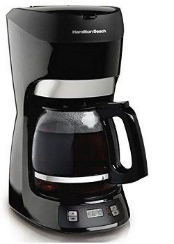 Hamilton Beach 12-Cup Coffee Maker with Digital Clock