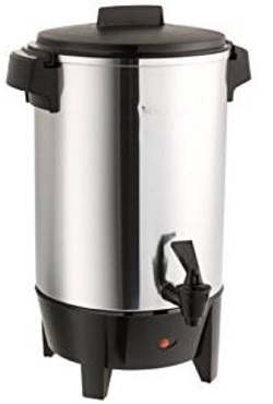 West Bend 58030 12-30 Cup Automatic Party Perk Coffee Urn