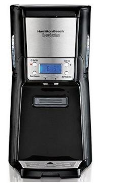 Hamilton Beach 12-Cup Programmable Coffee Maker Brewstation Summit Dispensing Coffee Machine
