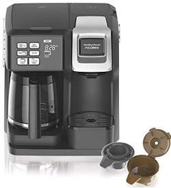 Hamilton Beach (49976) FlexBrew Coffee Maker, Single Serve & Full Coffee Pot
