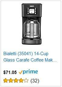 2a Bialetti 14-cup coffee maker