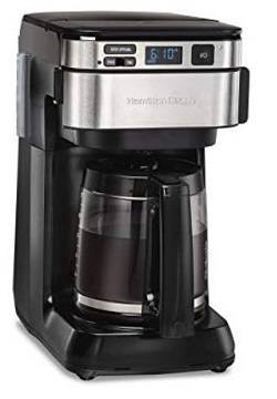 3a Hamilton Beach 46310 Programmable Coffee Maker 12 Cups Black