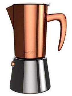 3a bonVIVO Intenca Stovetop Espresso Maker, Italian Espresso Coffee Maker