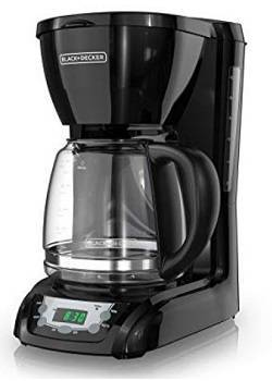 5a BLACK+DECKER DLX1050B Coffee Maker Black
