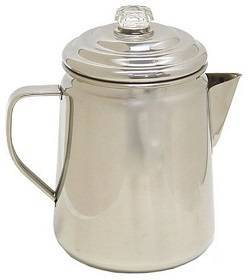 5a Coleman Stainless Steel Percolator, 12 Cup