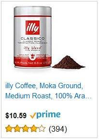 8a Lilly Coffee Moka Ground Medium Roast