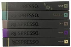 50 Nespresso OriginalLine Capsules variety pack
